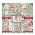 Bloc scrap 10 double face feuilles - Grand Hotel