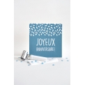 Carte anniversaire Pétard - <p>Une jolie carte pour souhaiter un joyeux anniversaire à une super copine !</p>