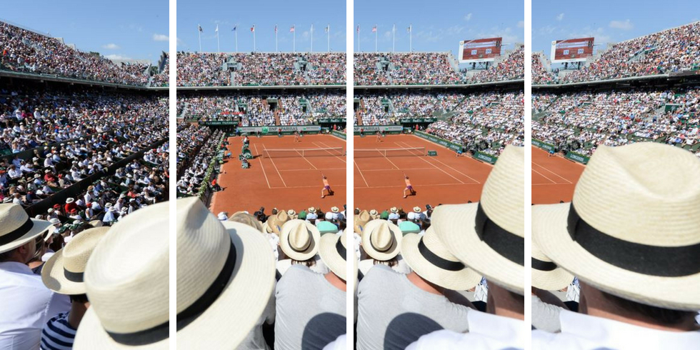 Roland Garros chapeau customiser