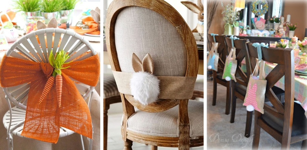 Chaises DIY Paques