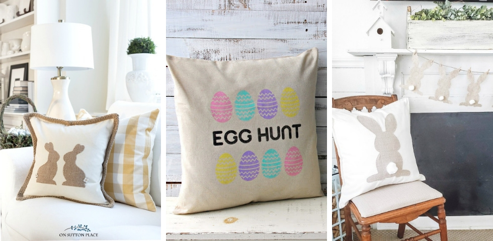 Coussin DIY Paques