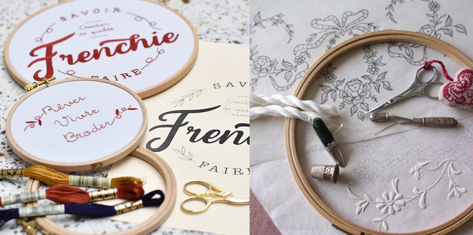 broderie cours