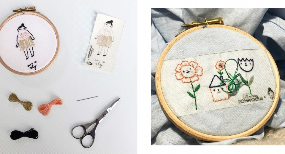 collaboration kit broderie